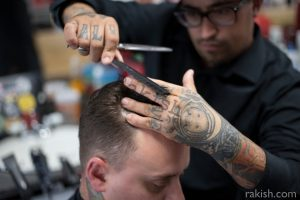 Cutting hair guy 3