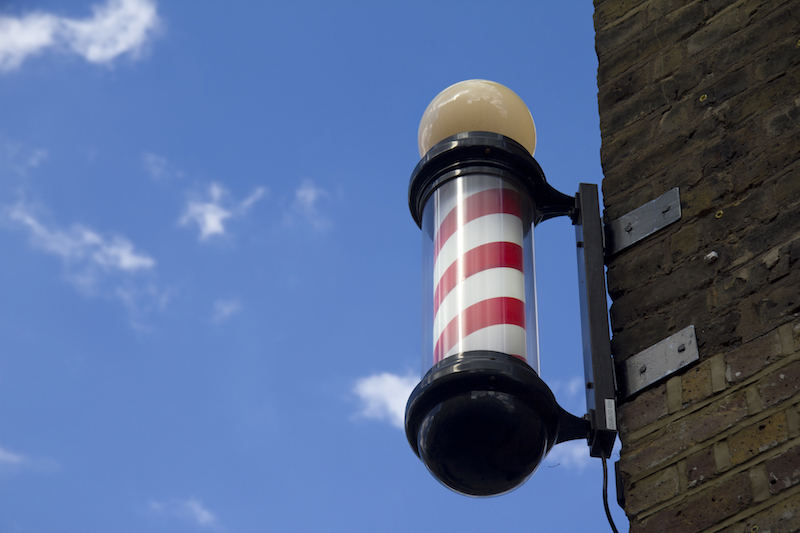 the famous barber pole - what oes it represent?