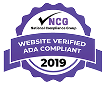 Website verified ADA compliant seal